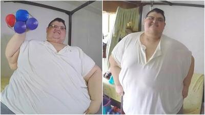 Tras haber perdido más de 600 libras, el joven que fue considerado el más obeso del mundo quiere ayudar a otros como él