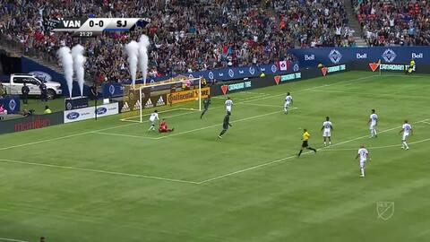 Vancouver Whitecaps 2-1 San Jose Earthquakes - GOLES Y RESÚMENES - MLS Regular Season