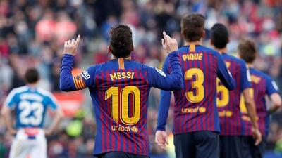 ¡Messi 'de 10'! Lleva 40 o más goles en una decena de temporadas consecutivas