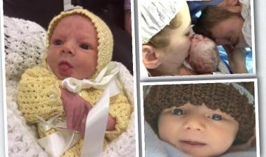 Los cuatro meses de Matías, el hijo de Julián Gil y Marjorie de Sousa en fotos