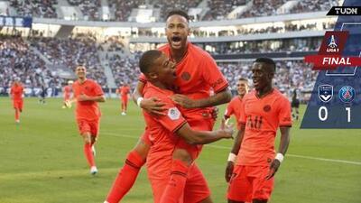 De la mano de Neymar, el PSG ya es líder