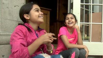 Concursan en Pequeños Gigantes sin la compañía de sus padres: el esfuerzo de dos niñas para llegar a la final