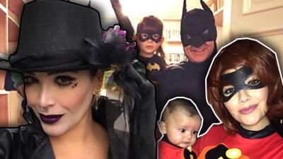 Karla, Ana Patricia y Alan transformaron a sus familias para el festejo de Halloween