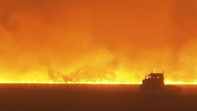 """""""Solo vimos una gigantesca torre de humo anaranjado"""", el recuerdo de un evacuado a causa del incendio Camp"""