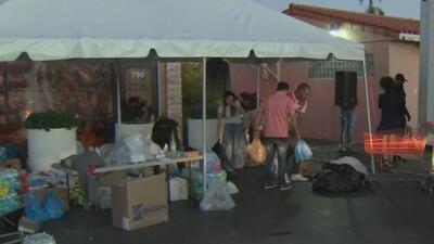 Comunidad en el sur de Florida recolecta ayuda para los afectados por el paso del tornado en Cuba