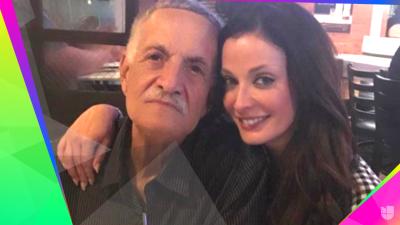 De blanco y con cerveza: Así despide Dayanara Torres a su papá
