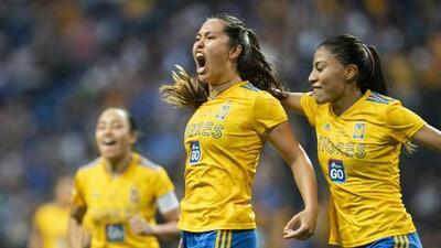 Tigres está a 45 minutos de ganar el título de Liga MX Femenil