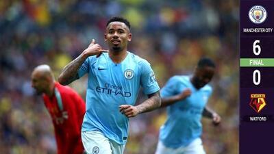 Dos pájaros de un tiro: El City ayudó a Wolverhampton de Jiménez ganando la FA Cup