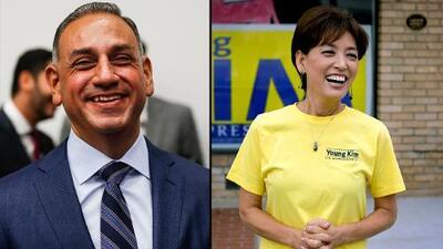 Un hispano demócrata que ganó la lotería compite contra una republicana que busca ser la primera coreana en el Congreso