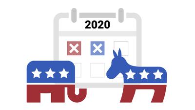 Estas son las fechas cruciales de las elecciones primarias 2020 en EEUU