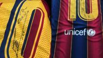 Messi regala camisetas a farmacéutica que donó vacunas a Conmebol
