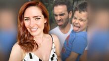 """Ariadne Díaz compara a su hijo con una lagartija e Instagram la acusa como """"mamá 'bully'"""""""