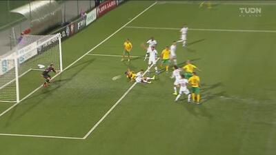 A lo Cristiano, Vytautas iguala 1-1 ante Portugal con potente cabezazo