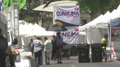 La comunidad salvadoreña en Los Ángeles celebra la Feria Agostina