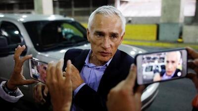 """""""Fuerza Venezuela"""", las palabras de Jorge Ramos antes de abordar un avión tras ser expulsado de ese país"""