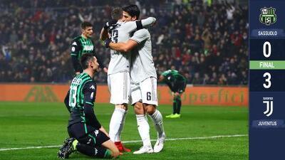 CR7 y la Juventus se afianzan en la cima de Italia tras victoria ante Sassuolo