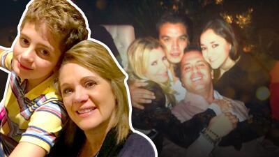 El hijo de Erika Buenfil ya tiene 14 años y cada vez se parece más a su padre, Ernesto Zedillo Jr.