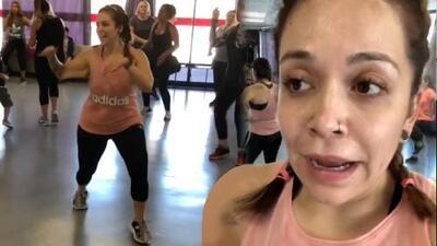 """""""Me muero, me muero"""": la exaltada reacción de Jacqie Rivera al bailar cuatro canciones"""