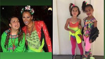 Consuelo Duval nombra a hijas de las Kardashian como las 'Nacardashians'