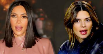 """""""Me vas a matar"""": Kim Kardashian celebra el cumpleaños de Kendall Jenner publicando un gracioso video de su hermana"""