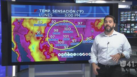 San Antonio arranca la semana con mucho calor