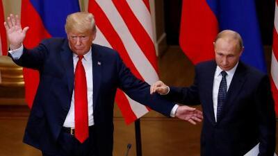 """Putin está dispuesto a ir a Washington, pero antes habrá que """"lidiar con los resultados"""" de la reunión en Helsinki"""