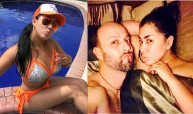 Mira cómo derrama miel Esteban Loaiza, ex de Jenni Rivera, con su novia, Ross Labra