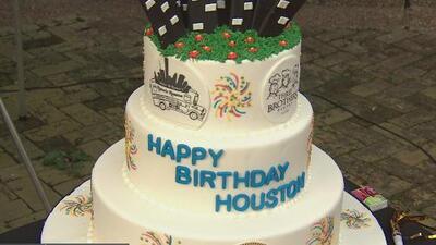 La ciudad de Houston celebra 183 años de ser fundada