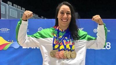 ¡La piscina fue azteca! México cerró la natación de Barranquilla 2018 con 15 oros