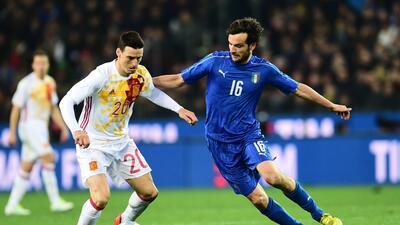 Italia 1-1 España: Aduriz y De Gea rescatan el empate de una Roja irreconocible