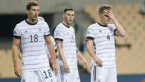 ¡Una vergüenza! Prensa de Alemania critica a su selección