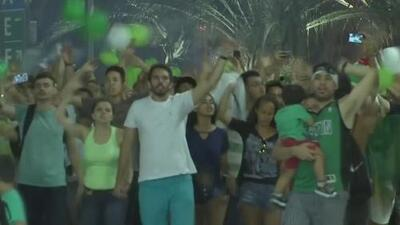 Miles de brasileños homenajearon al Chapecoense el día que hubiera jugado la final