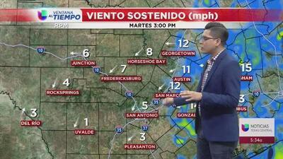 San Antonio tendrá un martes nublado