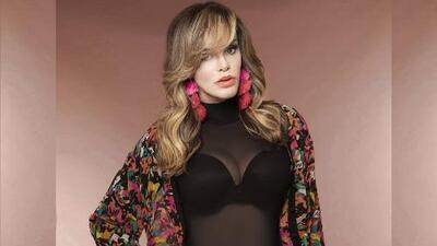El look de la semana se lo lleva Lucía Méndez y su foto sin ombligo
