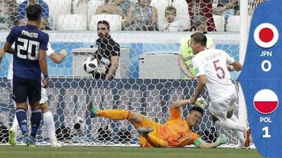 ¡Japón cerca del Sayounara! Avanza por Fair Play pese a perder con Polonia