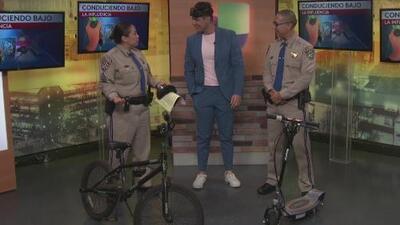 Evita una multa al utilizar tu bicicleta o patineta motorizada