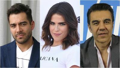 Los comediantes Omar Chaparro y Adrián Uribe evitan pronunciarse sobre la denuncia de abuso sexual de Karla Souza