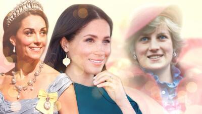 Meghan Markle y Kate Middleton rinden homenaje a Lady Di usando sus joyas