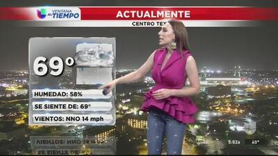 Mejoran las condiciones del tiempo en el centro de Texas
