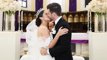 La boda de Aleyda Ortiz en fotos: todos los detalles de la ceremonia nupcial