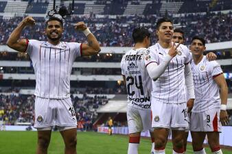 En fotos: ¡Asalto al Azteca! Chivas se llevó los tres puntos sobre Cruz Azul