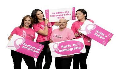 Grenda, Daniela y Denise unidas contra el cáncer de seno