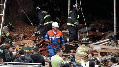 Explosión en zona residencial en Bogotá deja al menos 4 muertos; las autoridades descartan un atentado