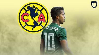 Gio dos Santos ya ha expresado su deseo de jugar con América