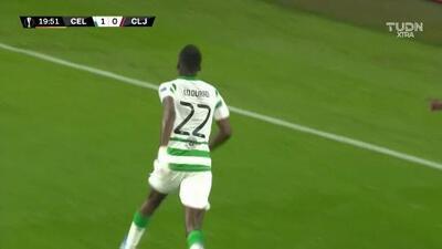 ¡GOOOL! Odsonne Edouard anota para Celtic