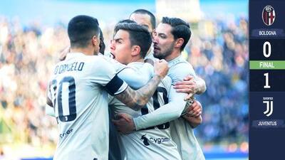 Juventus olvidó la derrota en Champions y se desquitó ante Bologna