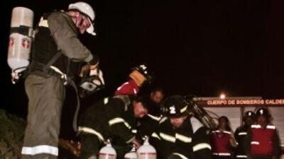 Tragedia en una mina chilena