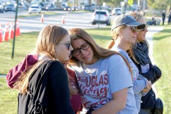 A un año de Parkland: miles de estudiantes recordaron a las víctimas (fotos)