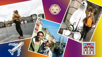 Ana Layevska anda por Europa mostrando su pancita de embarazo