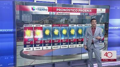 Continúa el calor extremo en Arizona